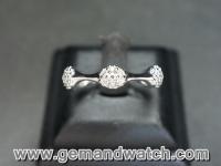 BN465แหวน Pandora เพชรรอบ