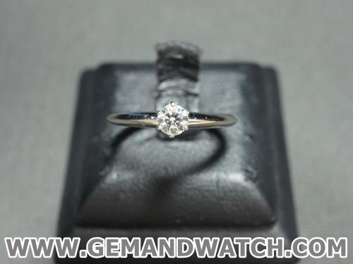 BN857แหวนเพชรเดี่ยว Tiffany&Co.