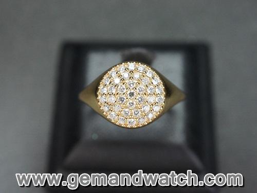 BN994แหวน Pandora ประดับเพชร