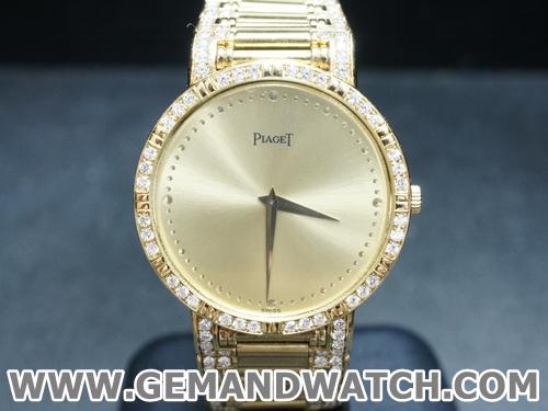 BW878นาฬิกาPiaget Polo 18K. ฝังเพชร