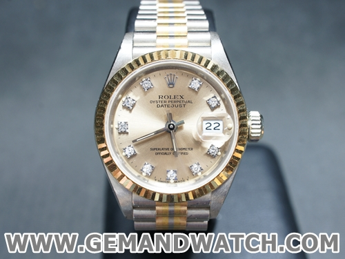 BW900นาฬิกาRolex Tridor Lady Size.