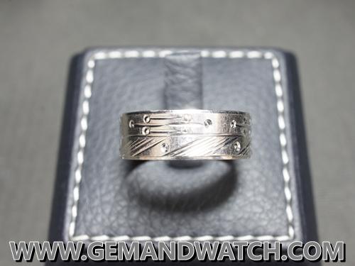 RI3639แหวนPlatinum 950