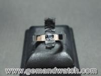 BN831แหวนทองคำขาว Cartier