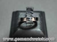 BN847แหวนทองคำขาว Cartier