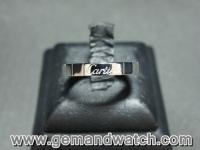 BN848แหวนทองคำขาว Cartier