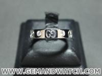 BN859แหวนGucci ประดับเพชร