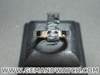 BN877แหวนทองคำขาว Cartier