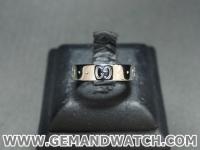 BN900แหวนทองคำขาว Gucci