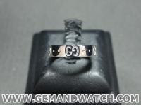 BN925แหวนทองคำขาว Gucci