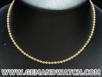 BN986สร้อยคอทองคำ Prima Gold