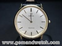 BW584นาฬิกาOmega Geneve 18K.