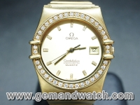 BW766นาฬิกาOmega Constellation King Size. 18K.