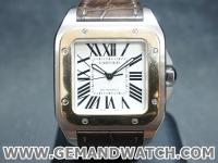 BW857นาฬิกาCartier Santos 100