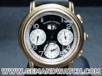 BW883นาฬิกาMaurice Lacroix FlyBack 18K.