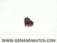 FC549พลอยหัวใจ Garnet ไซส์3.20ct.