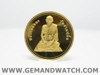 ML1014เหรียญทองคำหลวงพ่อทอง วัดสามปลื้ม