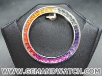 ML1030ขอบ Rolex Daytona Rainbow