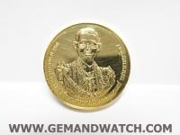 ML1041เหรียญพระราชพีธีถวายพระเพลิงพระบรมศพ ร.9 ทองคำ