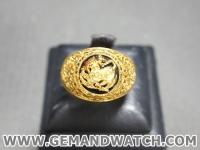 RI3541แหวนทองคำรูปสิงห์