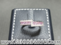 RI3601แหวนPink Sapphireประดับเพชร