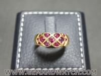 RI3662แหวนทองคำทับทิม