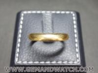 RI3663แหวนทองคำเกลี้ยง18K.