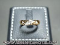 RI3740แหวนทองคำฝังเพชร